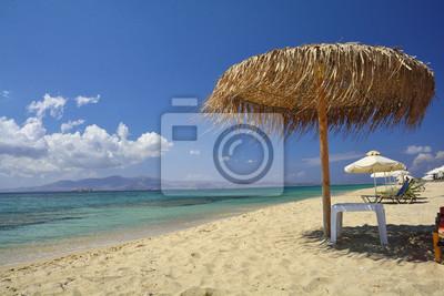 Beach on Naxos island, Cyclades, Greece