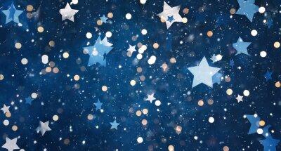 Sticker Beautiful decorative Christmas background