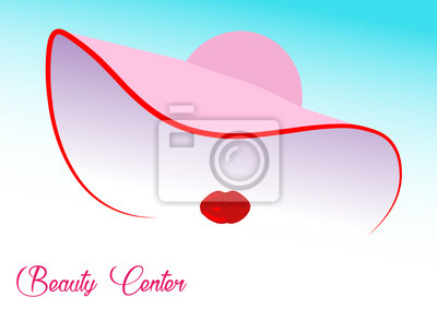 Beauty-Konzept, Kosmetische Chirurgie, Frau im Schönheitssalon, Vektor-Illustration