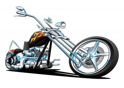 Sticker Benutzerdefinierte American Chopper Motorrad