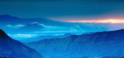 Sticker Bergpanorama auf die Ansicht von oben, Blue Mountains