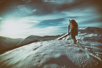 Sticker Bergwandern
