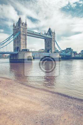 Berühmte attraktive London Tower Bridge