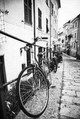 Sticker Biciclette nel vicolo