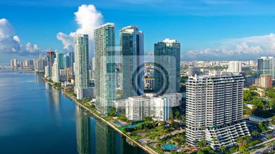 Sticker Biscayne Bay Downtown Miami