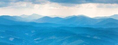 Sticker Blaue Berge