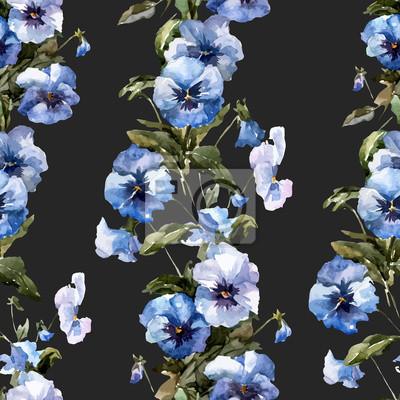 Blaue Blumen 1