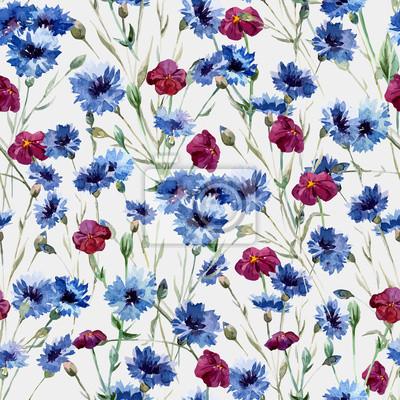 Blaue Blumen 10