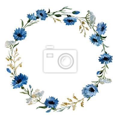 Blaue Blumen 12