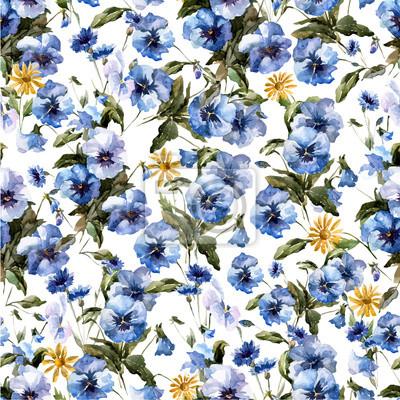 Blaue Blumen 4
