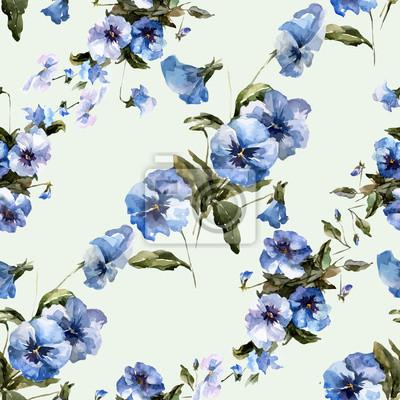Blaue Blumen 6