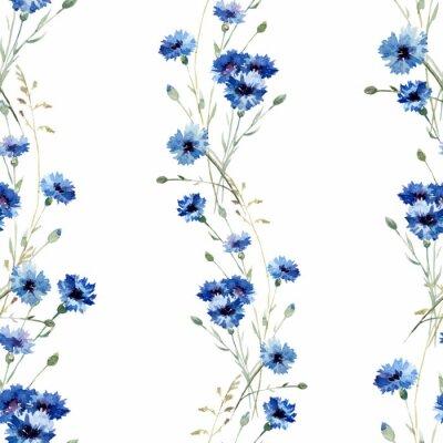Blaue Blumen 7