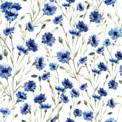 Blaue Blumen 9