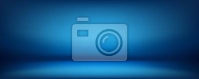 Sticker blauer Hintergrund, abstrakte Wand Studio Zimmer, kann verwendet werden, um Ihr Produkt zu präsentieren