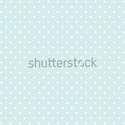 Sticker blauer Hintergrund des Tupfens v2