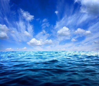 Sticker Blaues Meerwasser