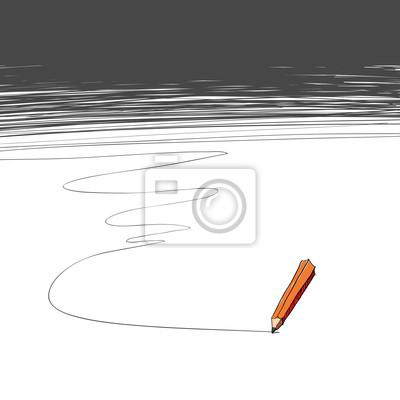 Bleistift. Hintergrund mit Kopie-Raum