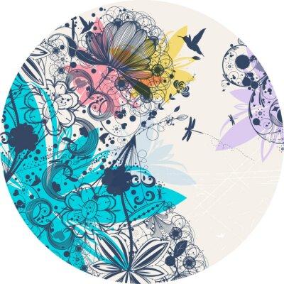 Sticker Blume