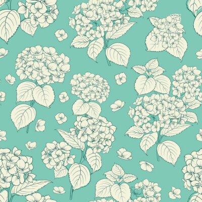 Sticker Blumenmuster.