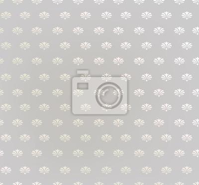 Sticker Blumenmuster. Floral nahtlosen Hintergrund. Geometrische Textur