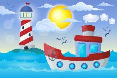 Sticker Boat Thema Bild 2