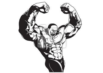 Bodybuilder Posen