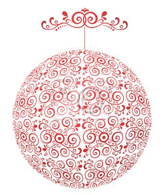 bombka - Ornament przezroczysta