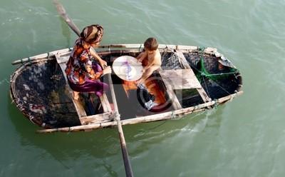 Boot mit Menschen
