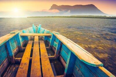 Sticker Boote auf einem river_5