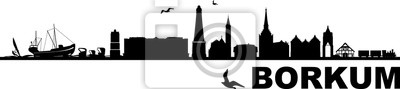 Borkum Skyline Cityscape