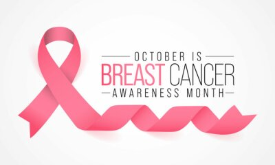 Sticker Breast Cancer awareness month (BCAM) is observed every year in October, to increase awareness of the disease and to raise funds for research into its cause, prevention, diagnosis, treatment and cure.