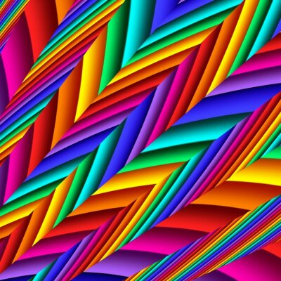 Bright colorful abstract lines for background. Artwork for creative design and art.