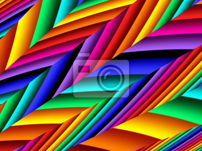 Sticker Bright rainbow abstract background. Artwork for creative design and art.