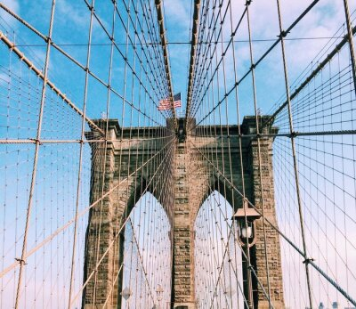 Sticker Brooklyn Brücke