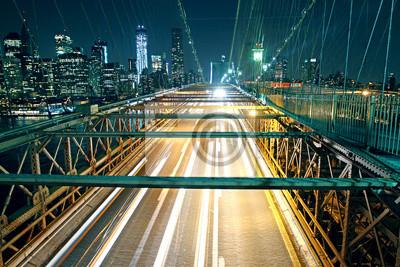 Brooklyn-Brücke Verkehr