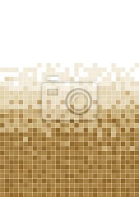 Brown-Mosaik-Hintergrund