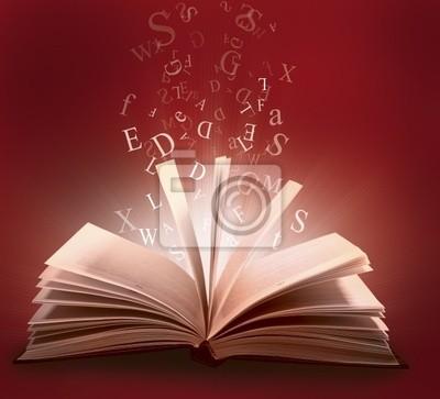 Buch mit Brief