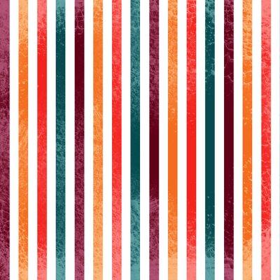Bunte Streifen-Muster