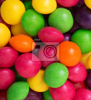 bunten Süßigkeiten