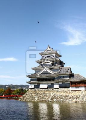 Burg Matsumoto in Japan