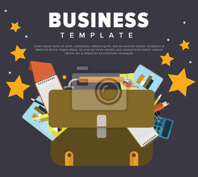 Business-Konzept Illustration.