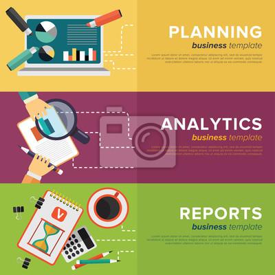 Business Process Management. Vector.