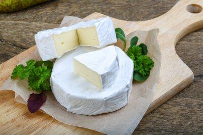Sticker Camembert-Käse