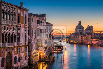 Canal Grande in der Nacht, Venedig