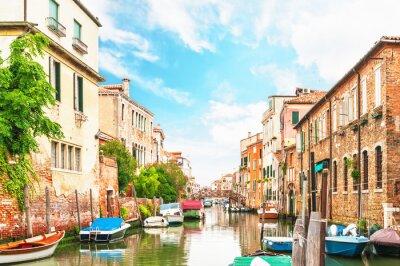Sticker Canal Venedig in Italien