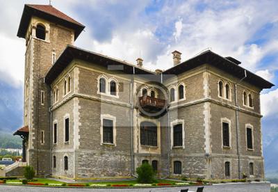 Cantacuzio Castle from Busteni, Romania
