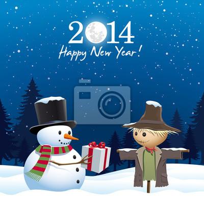 Carte de vœux 2014