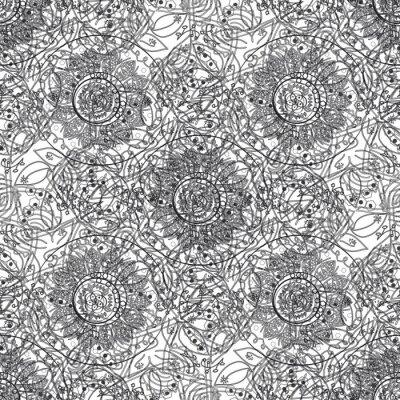 Sticker Chaotischen abstrakten Hintergrund.
