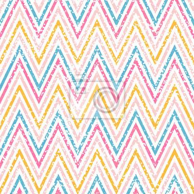 Chevron geometrische Muster mit weißen Punkten