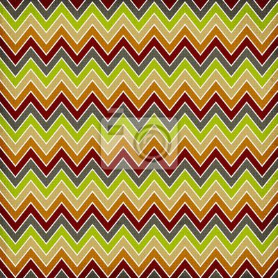 Chevron geometrische nahtlose Muster,